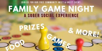 MRCI Family Game Night: A Sober Social
