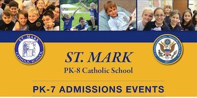 ST. MARK PK-8 Catholic School Open House - March 25