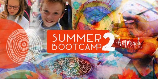 Summer Bootcamp 2: More Arty Fun, Fun, Fun!