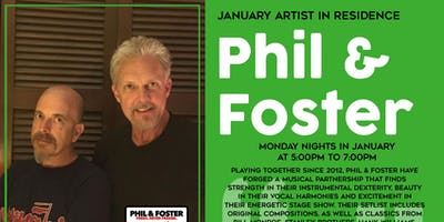 Phil and Foster Monday Nights at Page & Palette