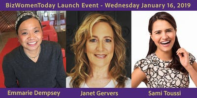 BizWomenToday Networking Event Launch: January 16, 2019 in Culver City, CA