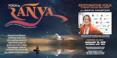 January Restorative Yoga Trance Event