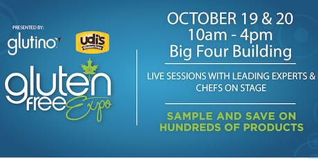 Canada's Largest Gluten Free Event Visits Calgary, October 19 & 20, 2019! tickets