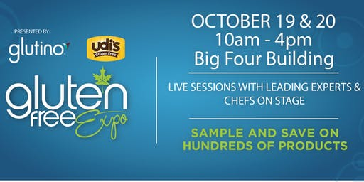 Canada's Largest Gluten Free Event Visits Calgary, October 19 & 20, 2019!