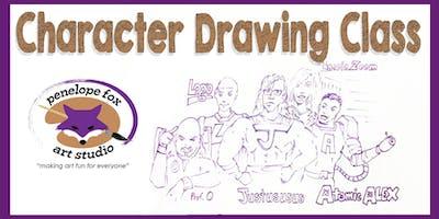 Character Drawing Class - Saturday Morning