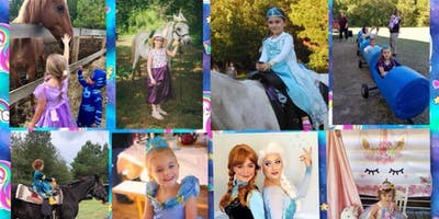Unicorn, Princess, Tea party