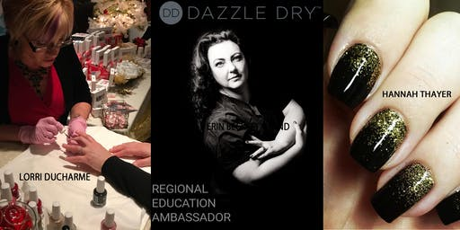 DAZZLE DRY Mani-Pedi and Nail Art WORKSHOP