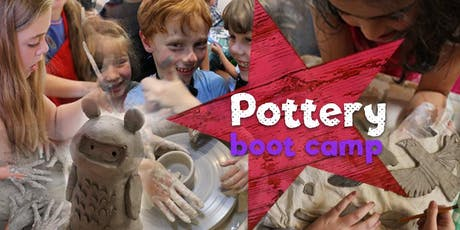 Kids Pottery Boot Camp - 3 days of Ceramic Making Goodness! tickets