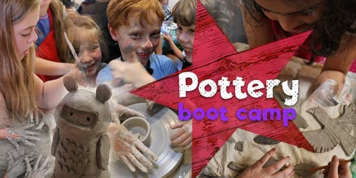 Kids Pottery Boot Camp - 3 days of Ceramic Making Goodness!