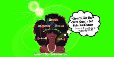 """VISION BOARD """"GLOW IN THE DARK"""" PARTY"""