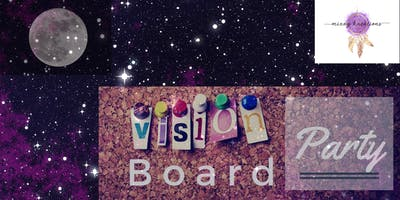 Full Moon Vision Board Alignment Party