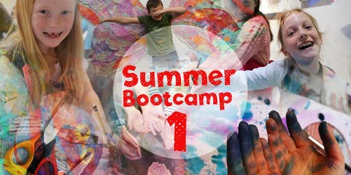 Summer Boot Camp 1 - A whole week of arty fun!