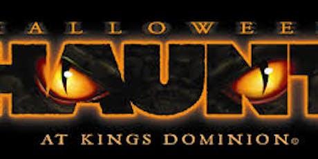 Quantico Single Marine Program (SMP) Halloween Haunt @ Kings Dominion tickets