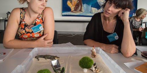 Engaging children using therapautic sensory play