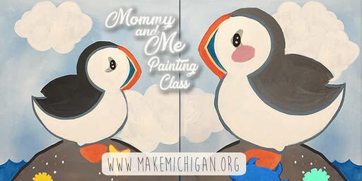 Mommy and Me Painting Class - Dorr