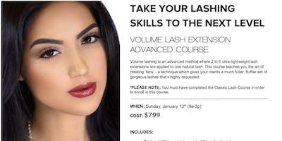 Advanced Volume Lash Extension Course