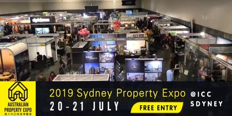 2019 Australian Property Expo - Sydney (FREE ENTRY) tickets