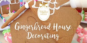 Baby Bea's Gingerbread House Decorating Event!