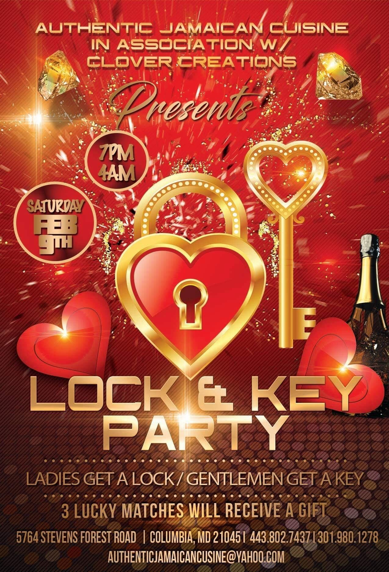 what is a lock and key party