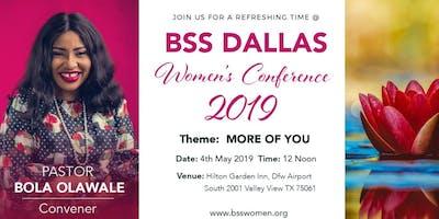 Body, Soul, and Spirit Women's Conference, Dallas 2019