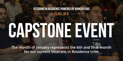 WeWork Veterans in Residence Powered By Bunker Labs: Capstone Event