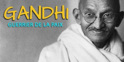 Gandhi, guerrier de la paix
