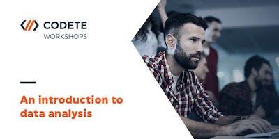 An introduction to data analysis - Workshop Kraków!