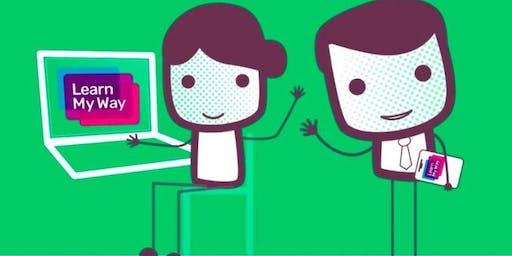 Get online with Learn My Way (Burscough) #digiskills