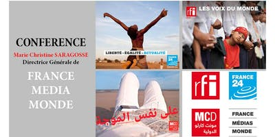 Conférence Marie Christine Saragosse- France Média Monde