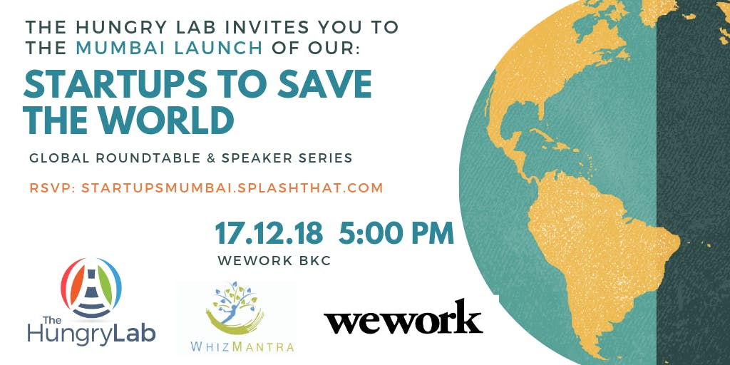 Startups to Save the World - Mumbai