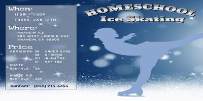 Homeschool Ice Skating