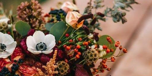 Autumn Seasonal Vase Design Workshop