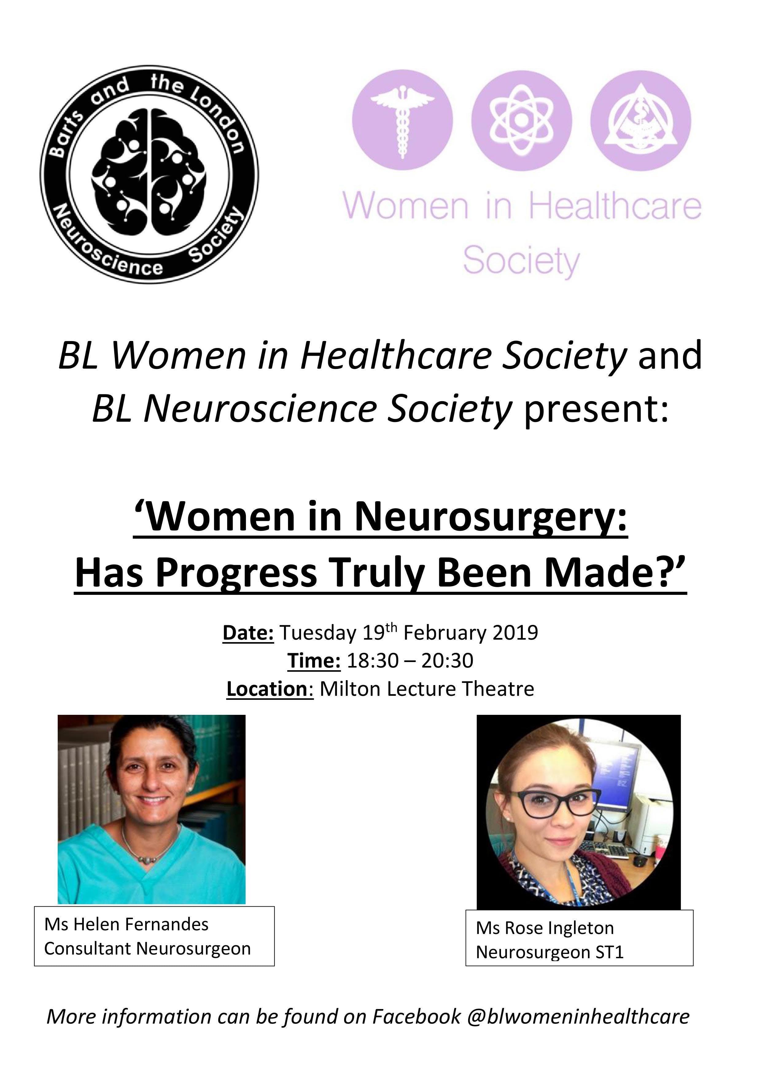 Women in Neurosurgery: Has Progress Truly Bee
