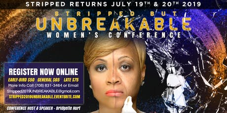 Stripped 2019 UNBREAKABLE tickets