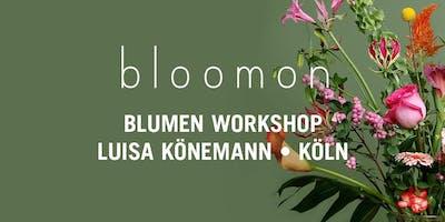 bloomon Workshop 02. Februar | Köln, Atelier Luisa Könemann