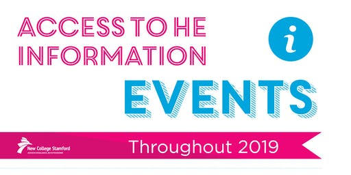 Access to HE Information Event: 21st June 2019