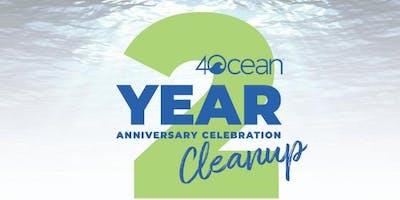 4ocean 2 Year Anniversary Celebration