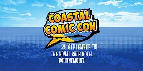 Coastal Comic Con tickets