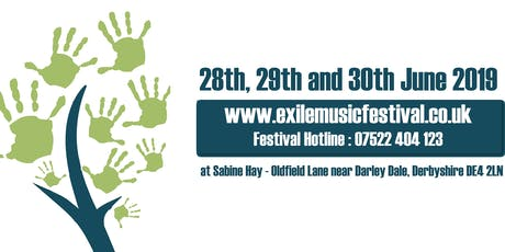 Exile Music Festival. Non profit boutique festival. Eclectic music mix. tickets