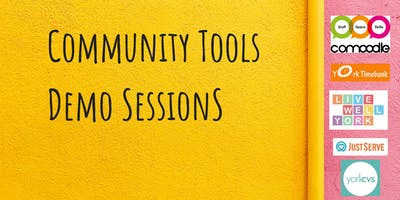 Community Tools Demo Sessions Comoodle Live Well York Co