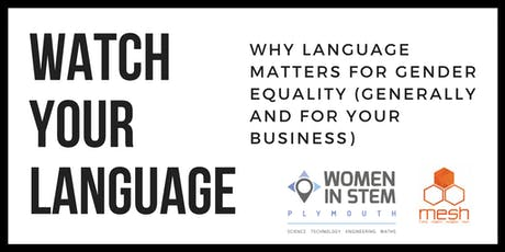 Watch your language! Gender inclusive text for small-businesses. tickets
