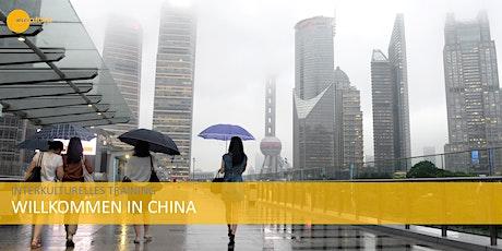 Interkulturelles Training China Tickets