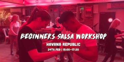 Beginners Salsa Workshop | Salsa Shrewsbury