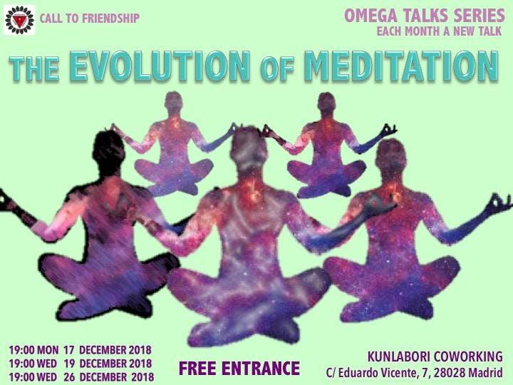 The Evolution of Meditation - Talk
