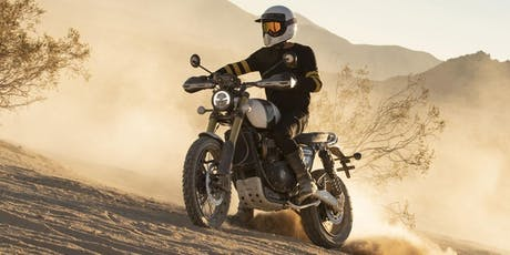 Triumph Scrambler Experience Day tickets