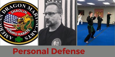 Personal Defense w/Emphasis on Awareness with Master Instructor Richard Mullen