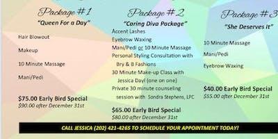 Caregiver Spa Day
