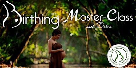 Birthing Master-Class ~December 14th tickets