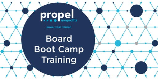 Board Boot Camp - October 17, 2019