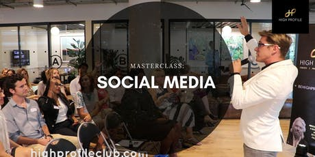 Masterclass: how to use social media for your business tickets